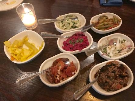 Salatim - Six Daily Vegetable Salads